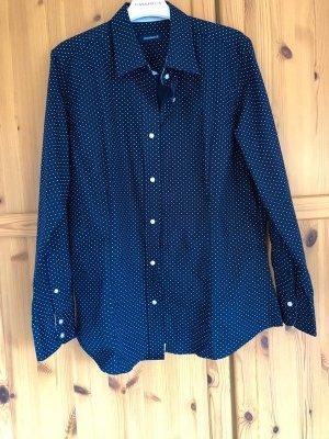 Frankonia Shirt Blouse dark blue-white