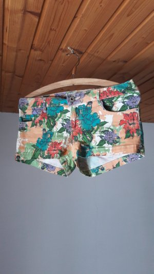 Stitch & Soul Short en jean multicolore
