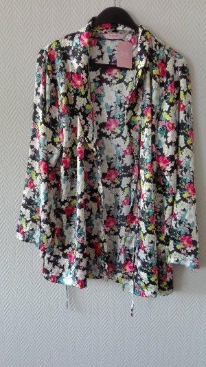 Bunte Kimono mit Blumenmuster von Hunkemöller