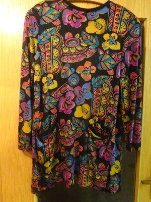 Long Jacket multicolored mixture fibre