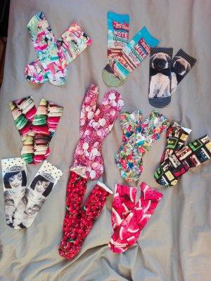 Bunte Motiv Socken von Calzedonia