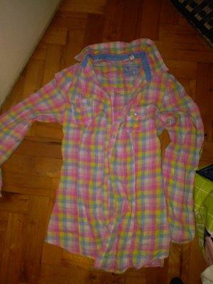 Bunte Pastellfarbene Bluse