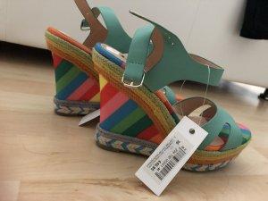 Leone Platform High-Heeled Sandal multicolored