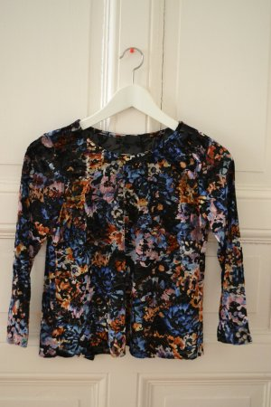 Topshop Wraparound Shirt multicolored