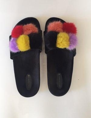 Zara Comfort Sandals multicolored