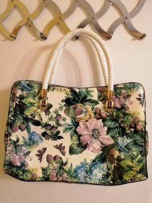 Carry Bag white-forest green