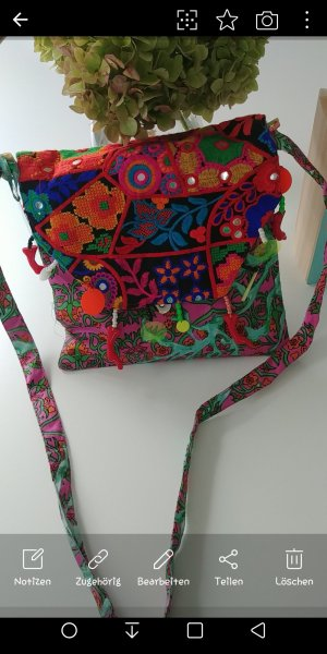 Antica Sartoria Canvas Bag multicolored