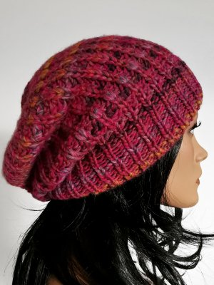 appetizer Knitted Hat pink-pink