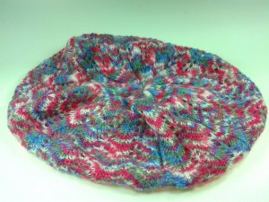H&M Bonnet en crochet multicolore