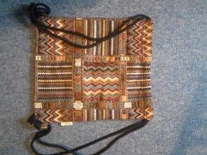 bunte Tasche im Indianer style