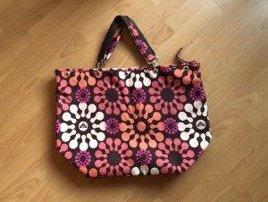 Bunte Tasche mit floralem Muster