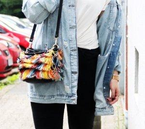 Bunte Tasche Umhängetasche Handtasche von Zara