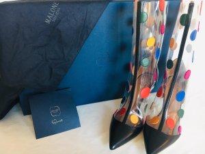 Bunte transparente Designer heels