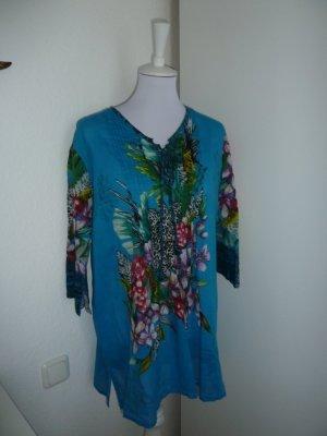 Bunte Tunika-Strand Kleid