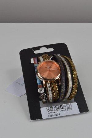 Bunte Uhr mit verschiedenen Bändern