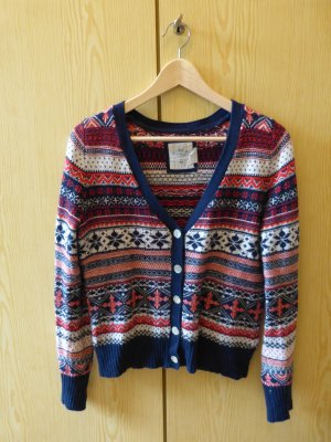 bunter Cardigan, Norwegermuster