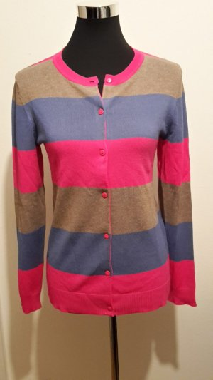 Bunter Cardigan / Strickjacke