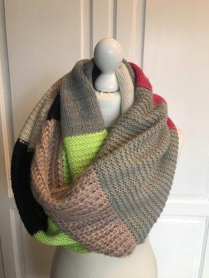 Codello Sciarpa lavorata a maglia multicolore