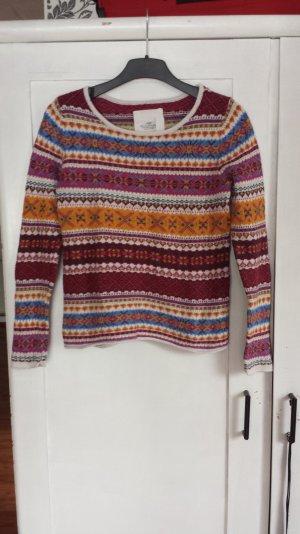 Bunter dicker Pullover