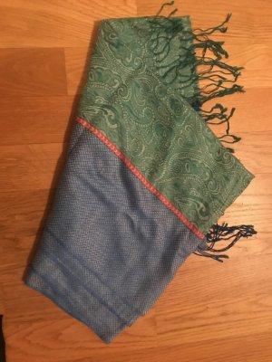 Pashmina Pashmina azzurro-verde chiaro Viscosa