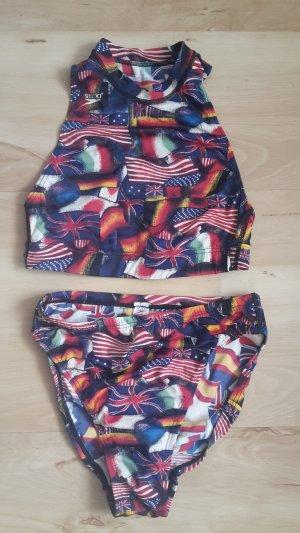 bunter Flaggen Bikini von Speedo
