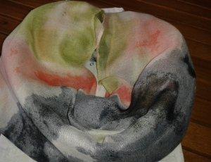 Snood multicolored viscose