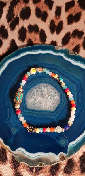 Bunter Perlenarmband