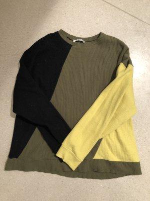 Zara Maglione di lana multicolore