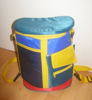 bunter Retro Picknick Rucksack