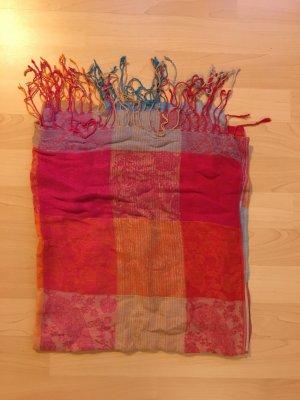 Bunter Schal - schön für das Frühjahr