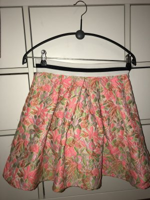 Imperial Pleated Skirt multicolored