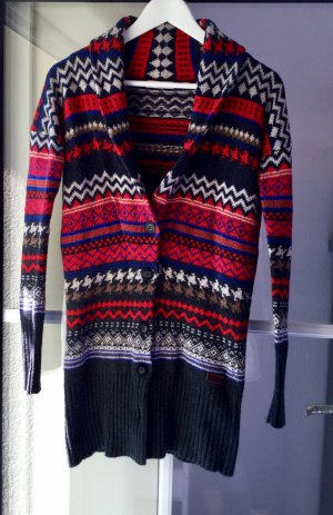 Bunter Strickcardigan