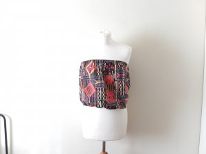 3 Suisses Top multicolored cotton