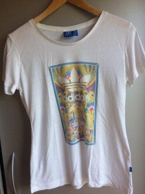 Adidas T-shirt imprimé multicolore