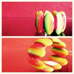 Bijoux de bras multicolore
