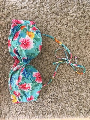 Buntes Bikinioberteil H&M Flowers