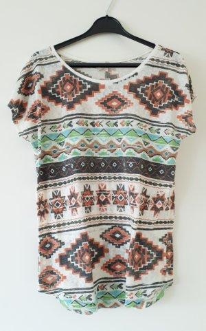 Buntes Ethno-T-Shirt
