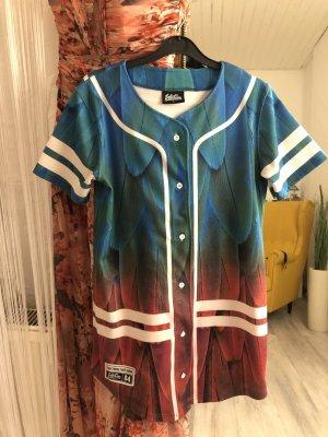 Abito blusa camicia multicolore