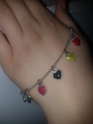 Buntes Herz Armband
