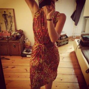 Buntes Hippie Kleid von MANGO