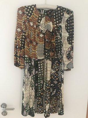Buntes Kleid mit Schleife von &other stories