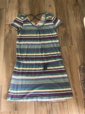 Buntes Kleid von EDC Esprit, Gr. XL
