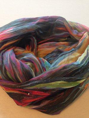 Écharpe tube multicolore