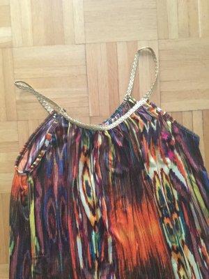 Robe longue multicolore viscose