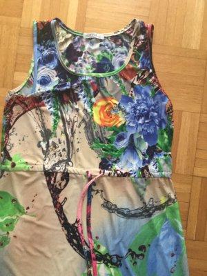 Maxi Dress multicolored viscose