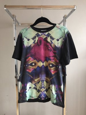 Illustrated People Oversized Shirt multicolored