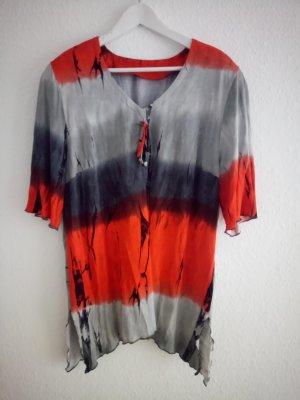 Camisa rojo-gris