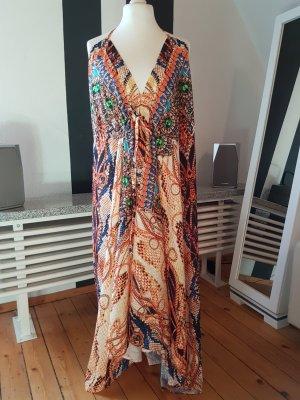 Maxi-jurk veelkleurig
