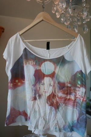 buntes T-shirt von Madonna