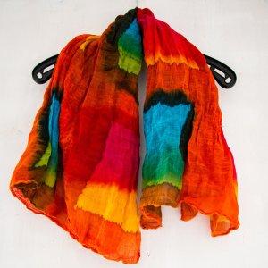 Foulard multicolore Cotone